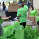Green Bags and Shirts