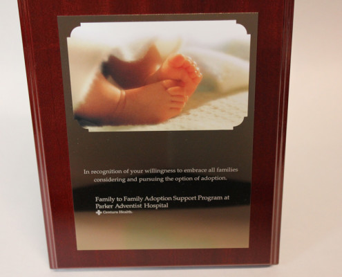 Baby Feet Plaque