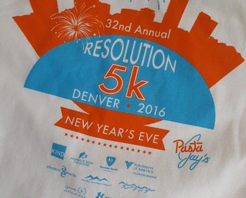 Resolution 5k Shirt