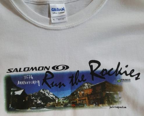 White Run the Rockies Shirt