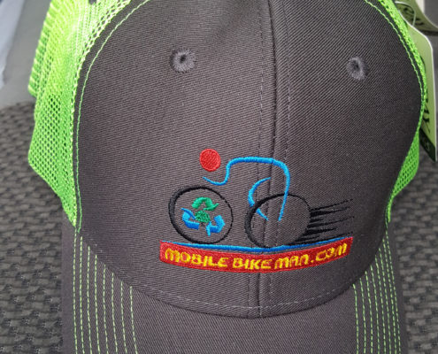 Black and Green Hats