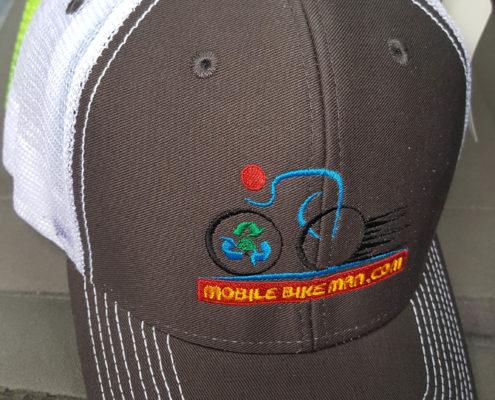 Mobile Bike Man Hat