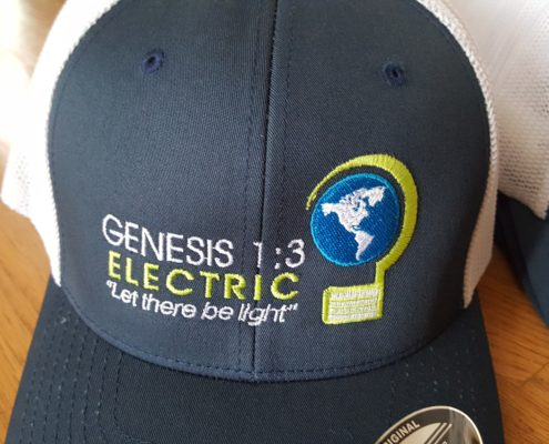Genesis Electric Hat Logo