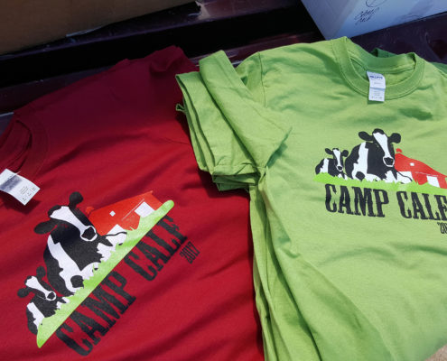 Red & Green Shirts