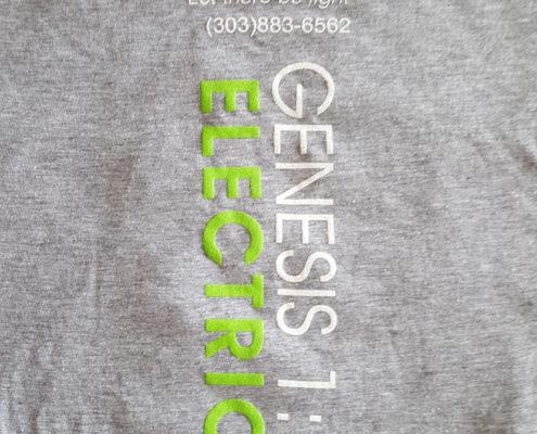 Genesis Electric Grey Shirt