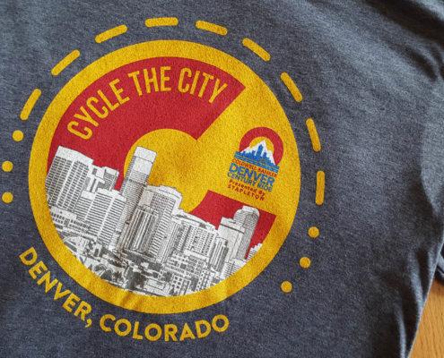 Grey Cycle the City Shirts