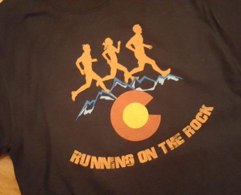 Running on the Rock Logo