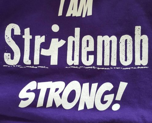 I Am Stridemob Strong