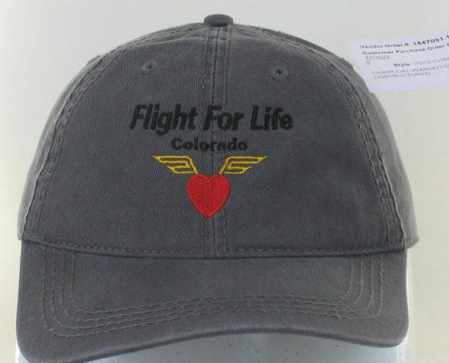 Grey Fight for Life Hat