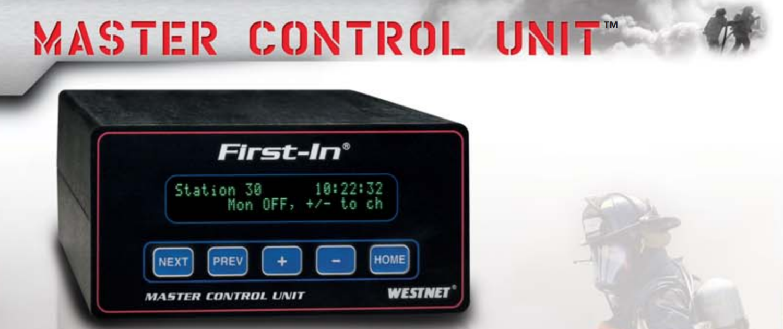 Master Control Unit Banner