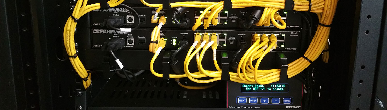 Organized Yellow Wires