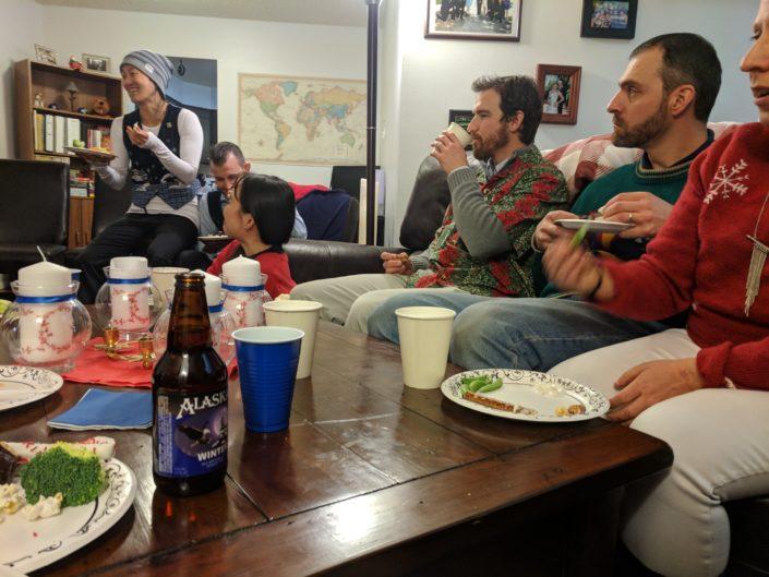 Gathering Together over Food