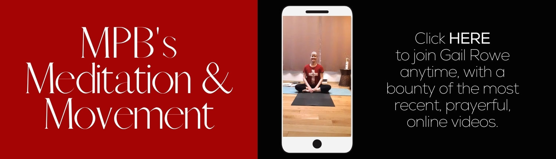 Meditation and Movement YouTube