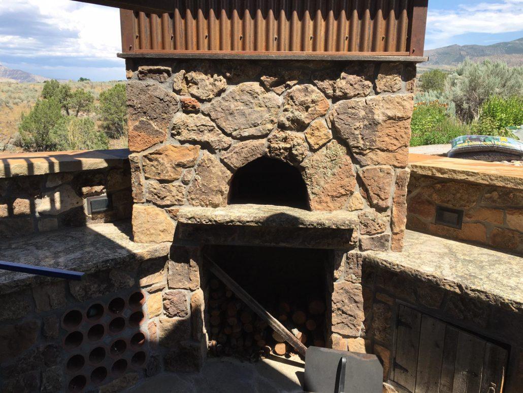 Outdoor Wood Fire Oven