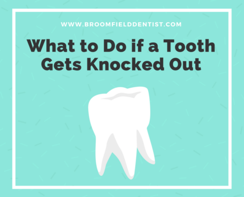 What to do if a tooth gets knocked out