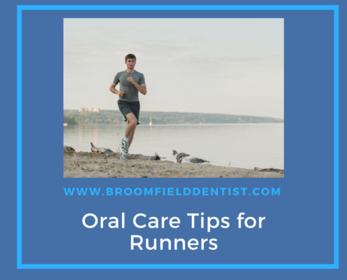 Oral Care for Runners Graphic