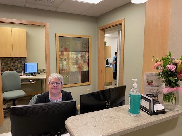 marti the receptionist