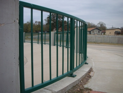 Green Barred Fence