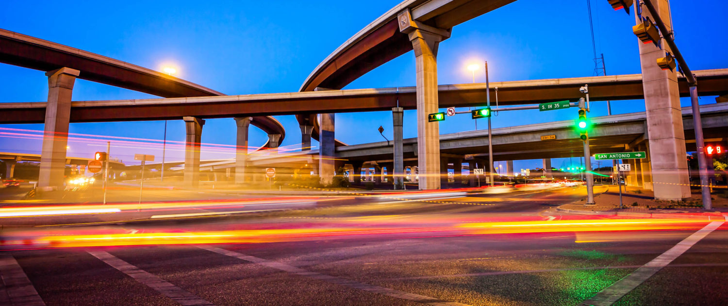 Intersection in Austin