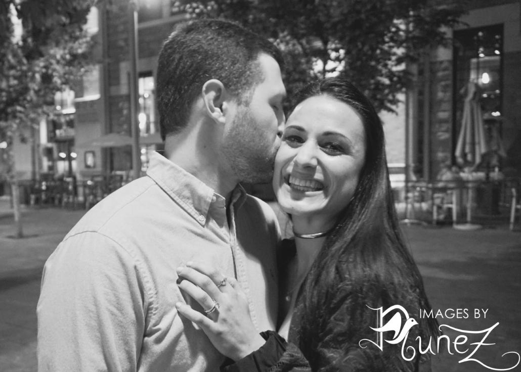 Jordan Kissing Danielle