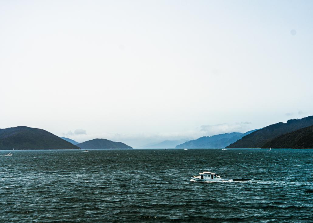 Boat Alone in Water