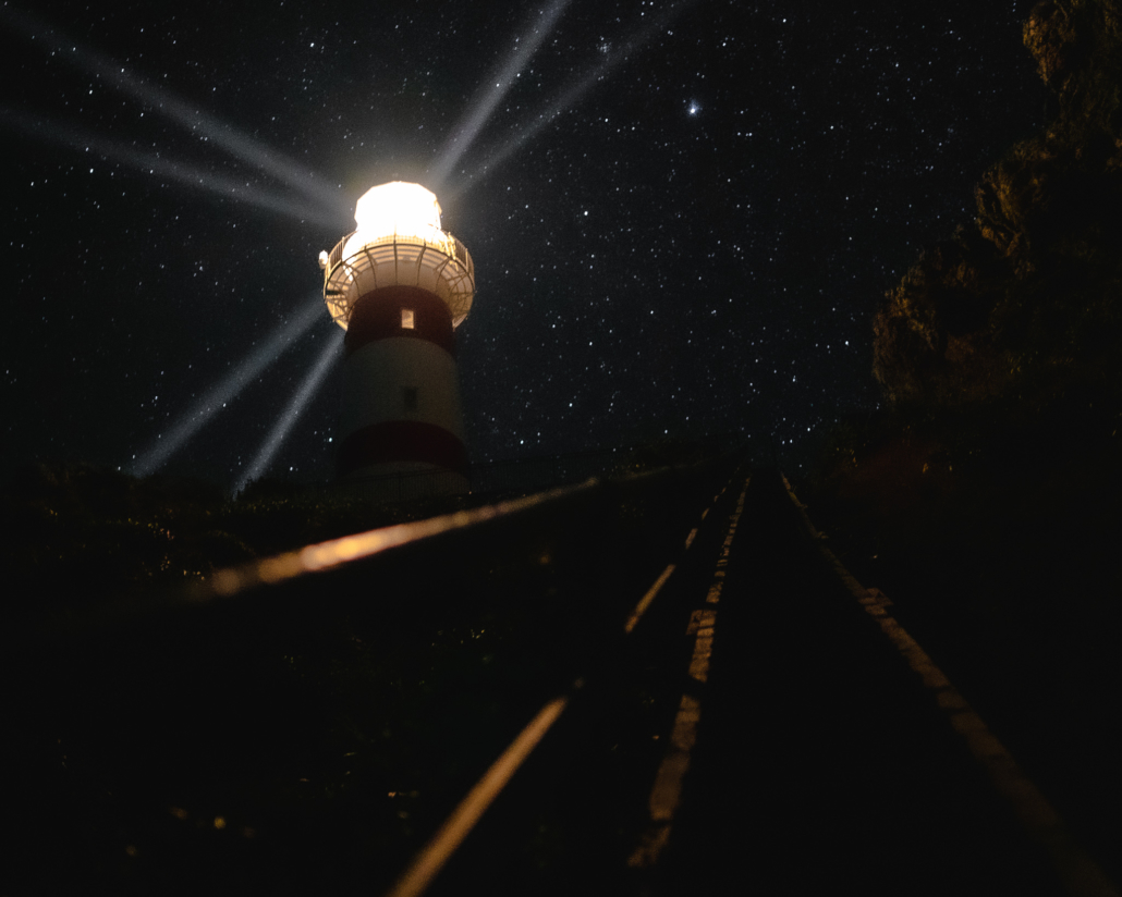 Lighthouse and Stairs