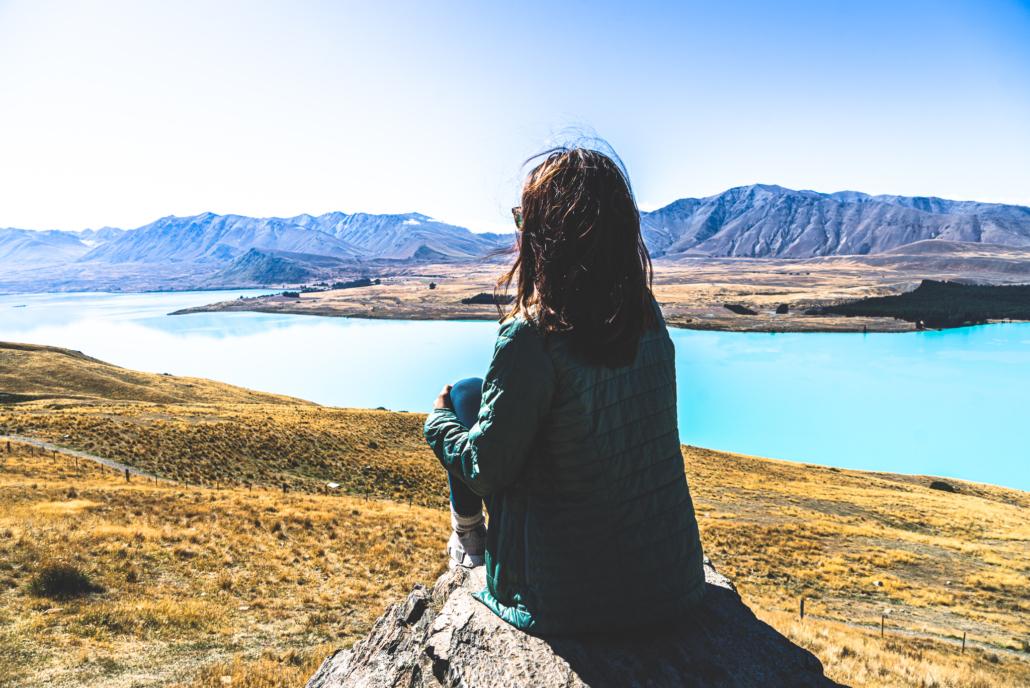 Girl Looking at Water