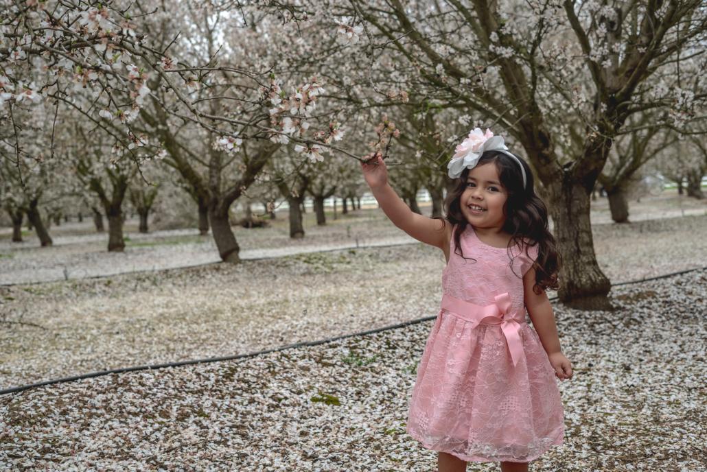 Milana Touching Tree