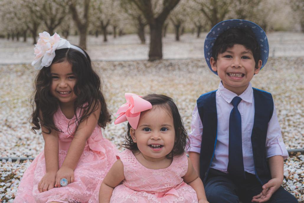 Chavez Children Smiling