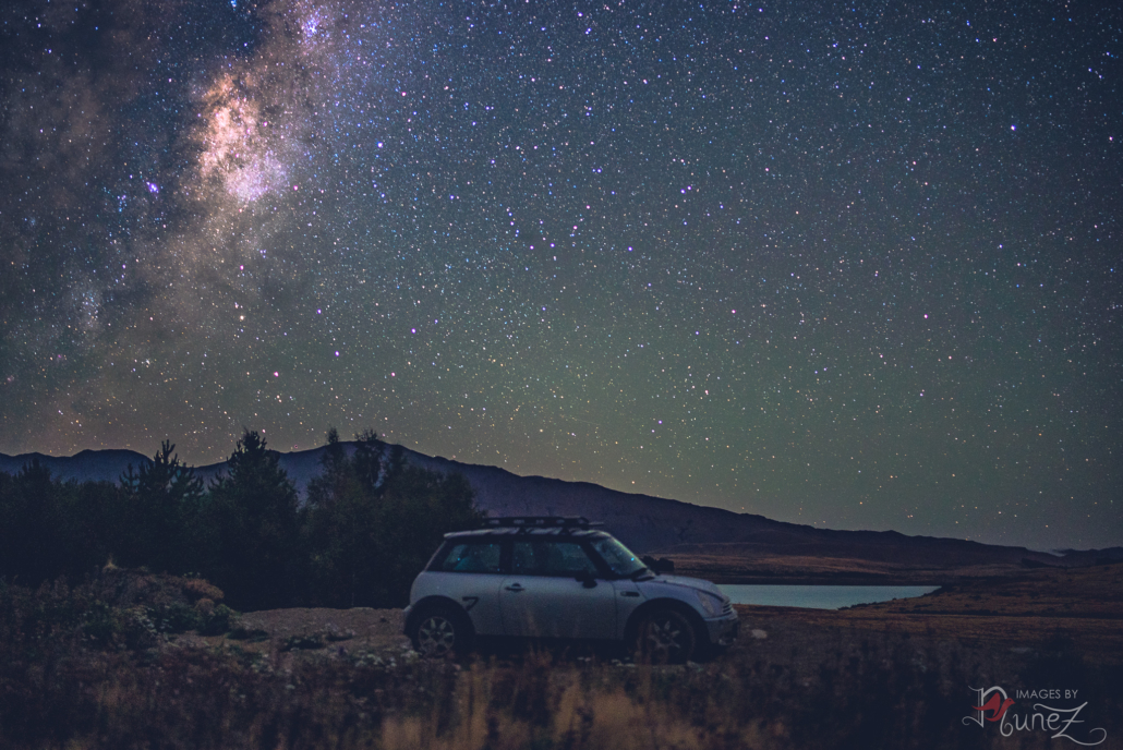 Astrophotography MINI the Mountains