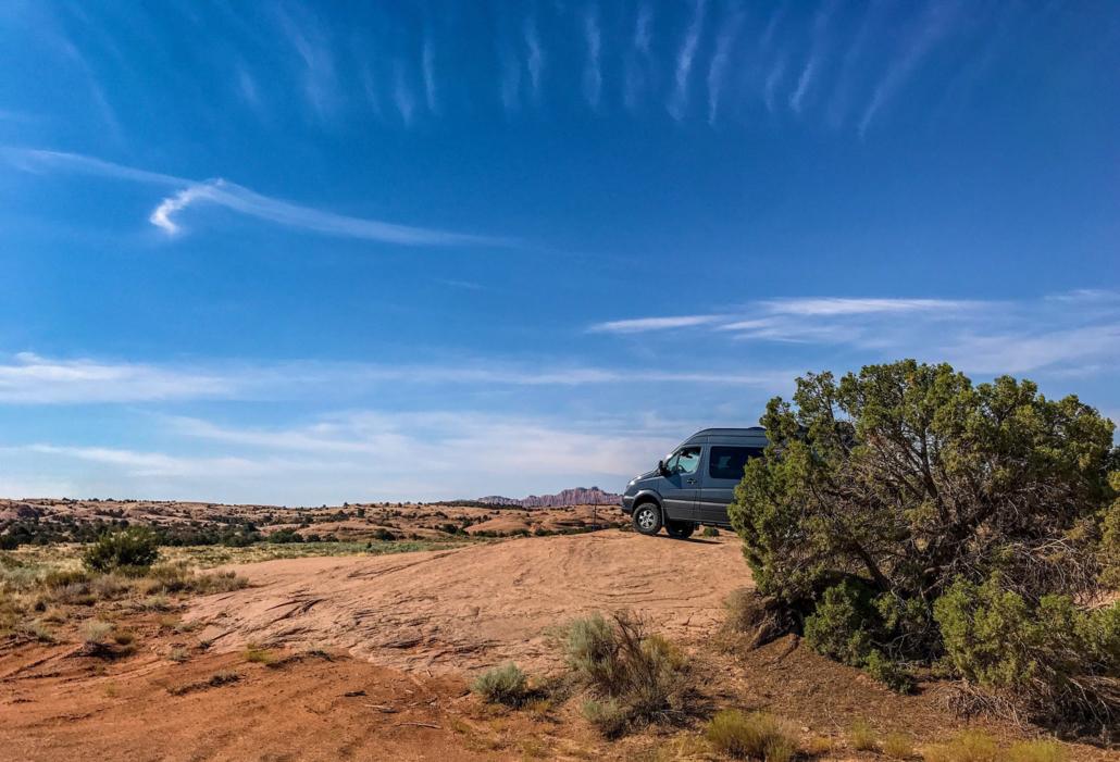 Colorado Adventure Van on a Lookout