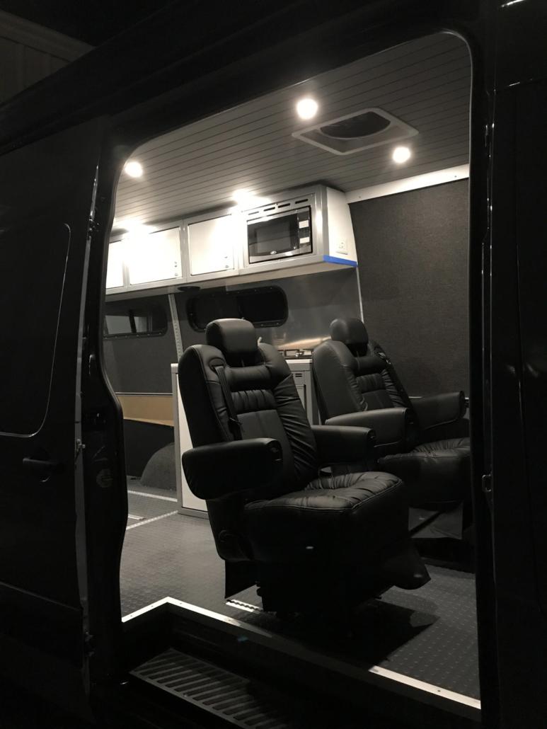 Colorado Adventure Van Custom Interior