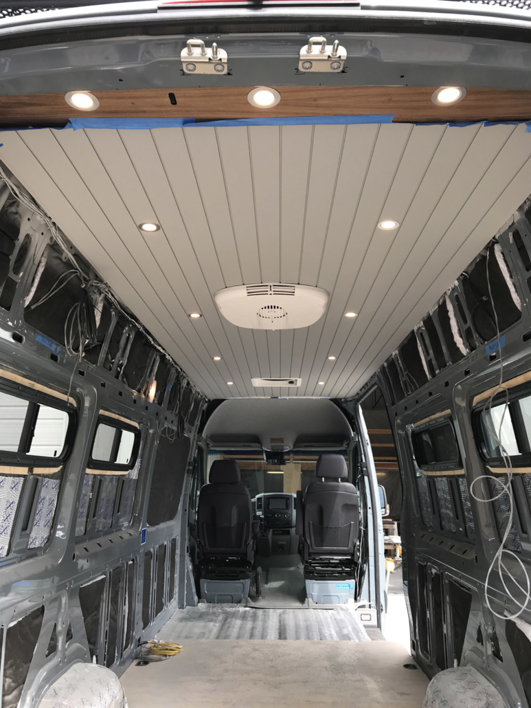 Unfinished Interior Van Conversion