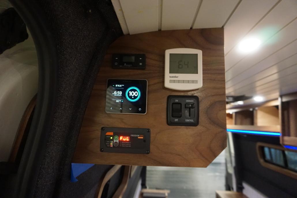 Custom Van Conversion Electronics