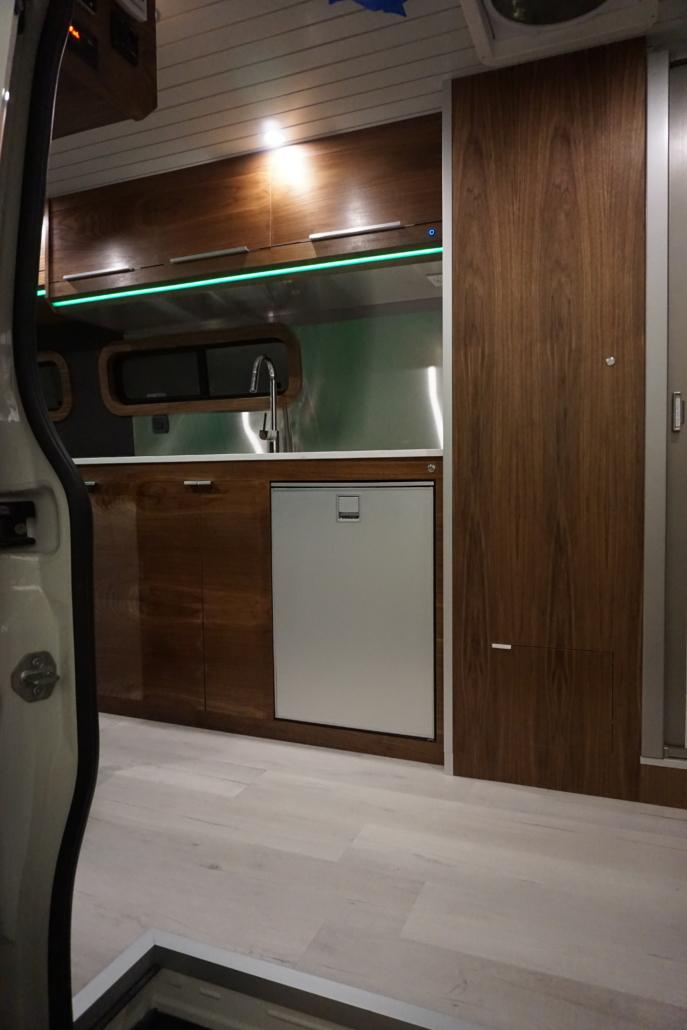 Custom Van Conversion Kitchen