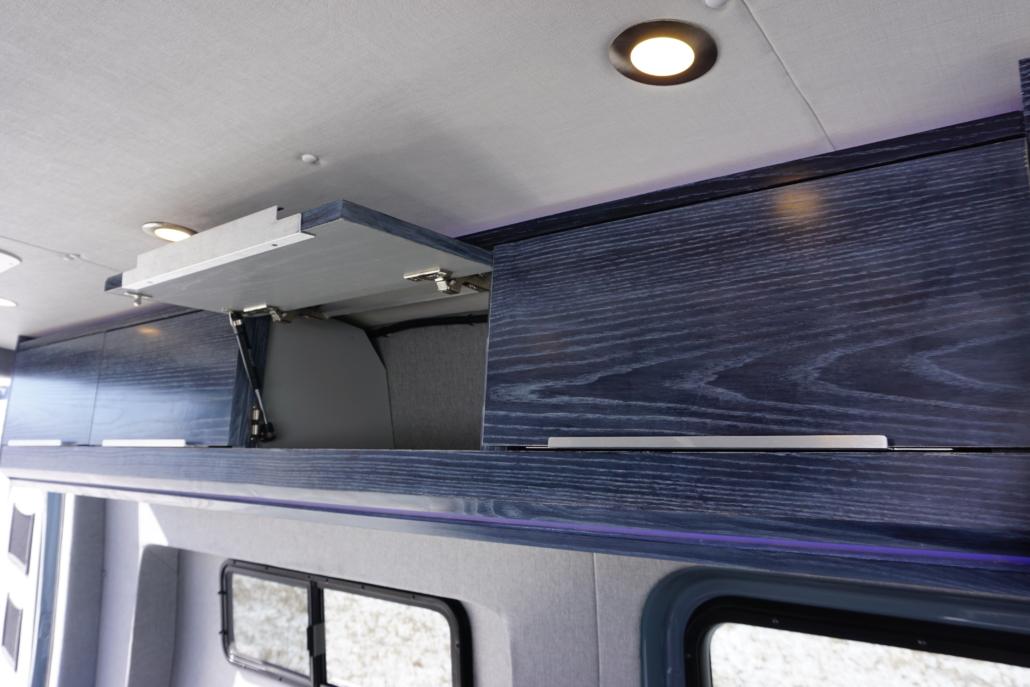 Interior of Van Conversion