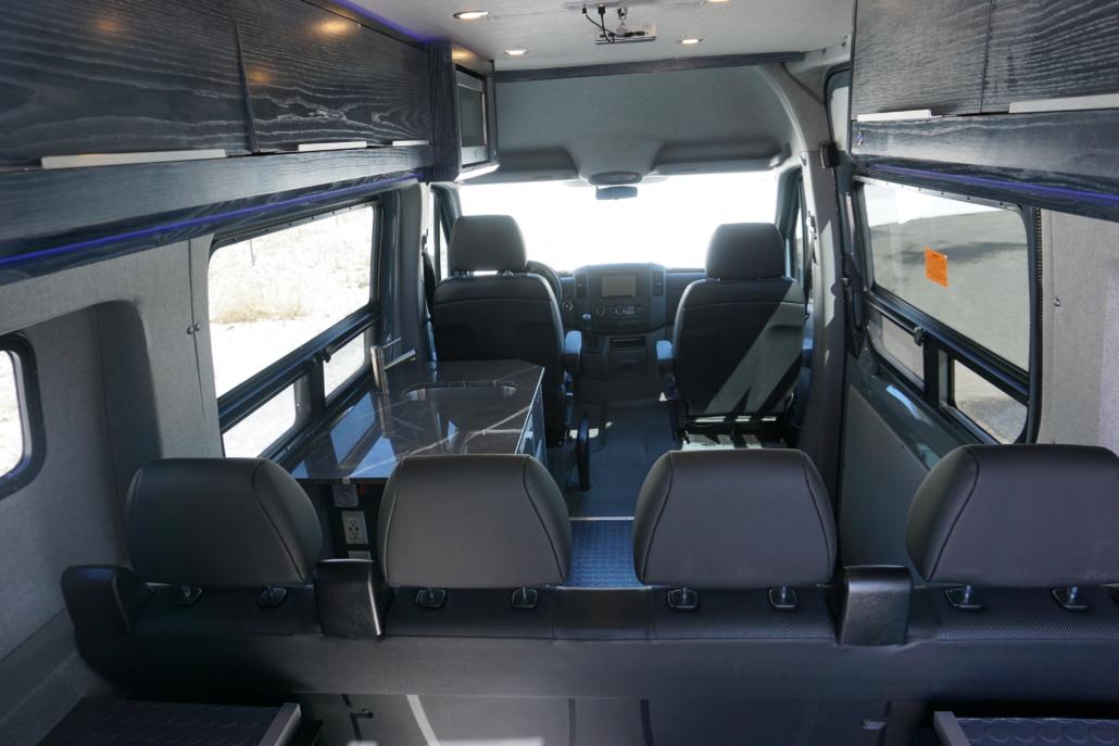 Bench Seats in Van