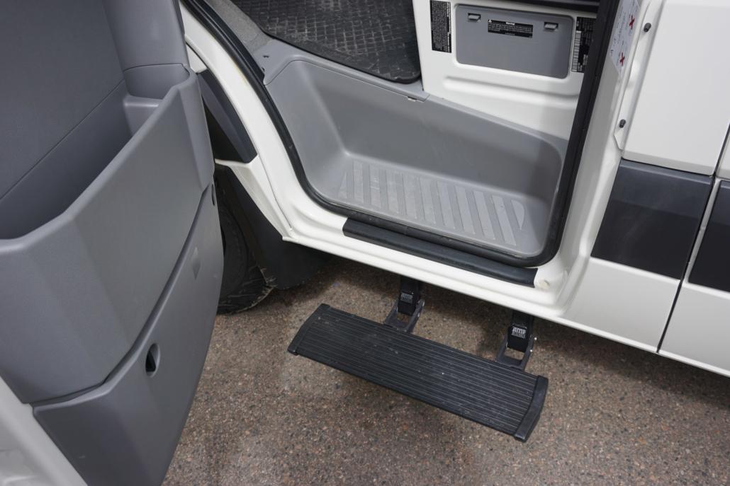 Customer Step into Van