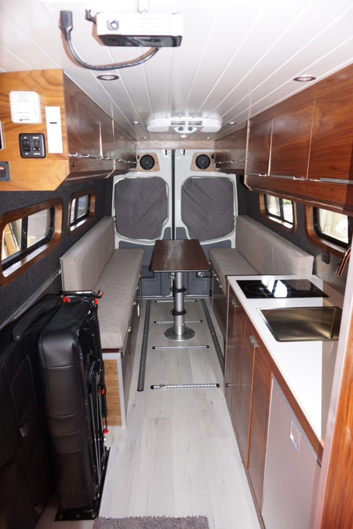 Custom Interior of Van