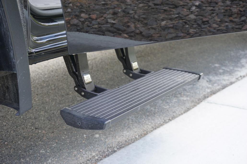 Mercedes Sprinter Van with Step