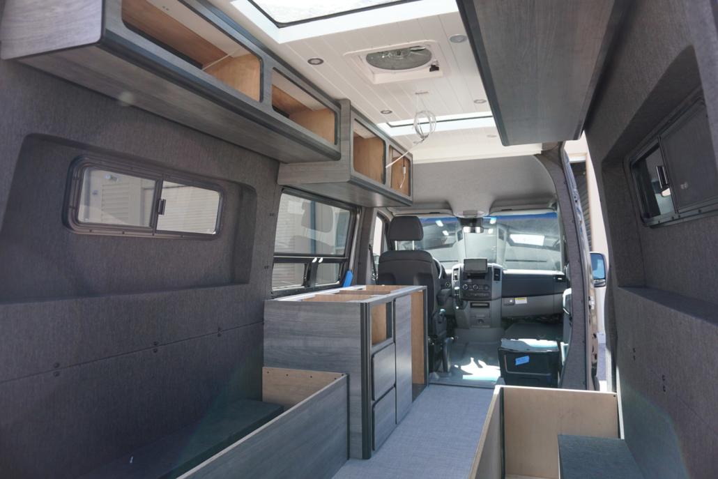 Custom Open Van Interior