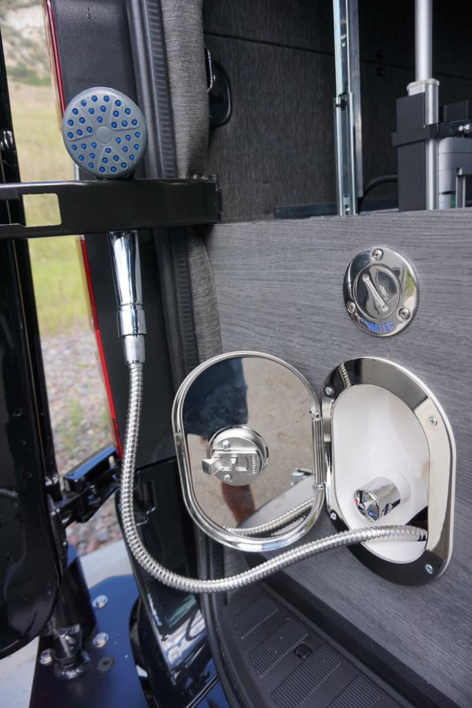 Custom Door Shower