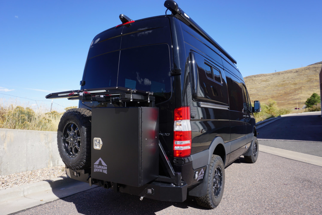 Black Mercedes Sprinter Van