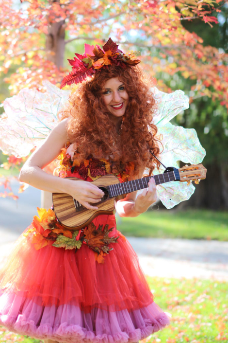Fall Fairy Character