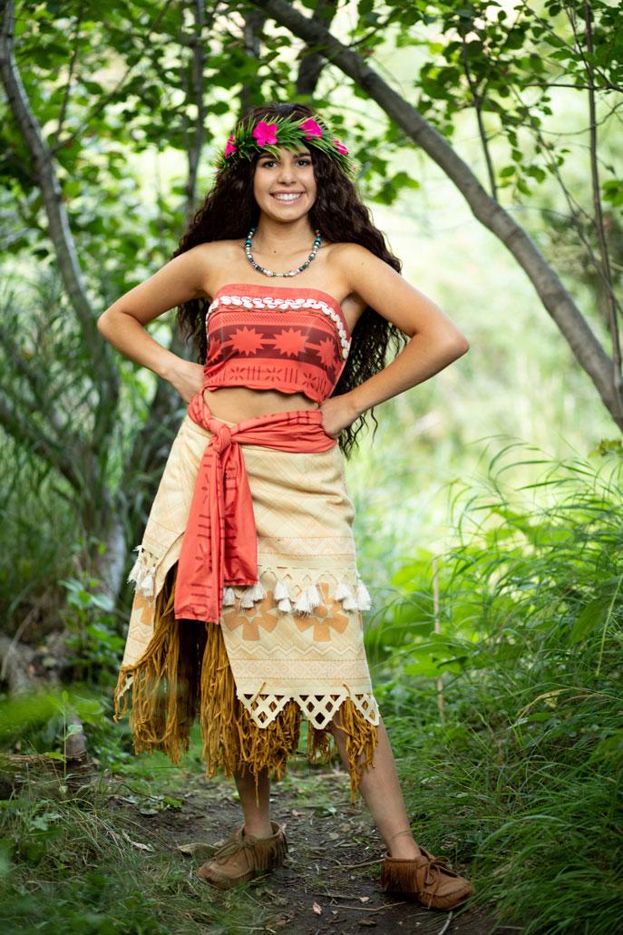 Polynesian Princess Character